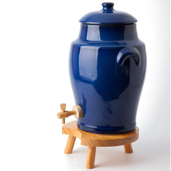 vinaigrier bleu 4 litres